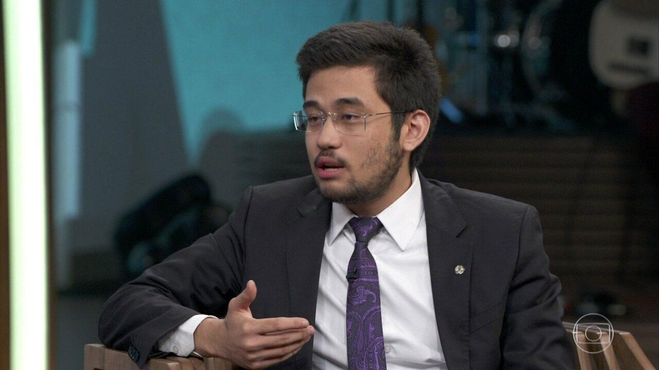 Kim Kataguiri fala sobre encontro com Jair Bolsonaro antes das eleições