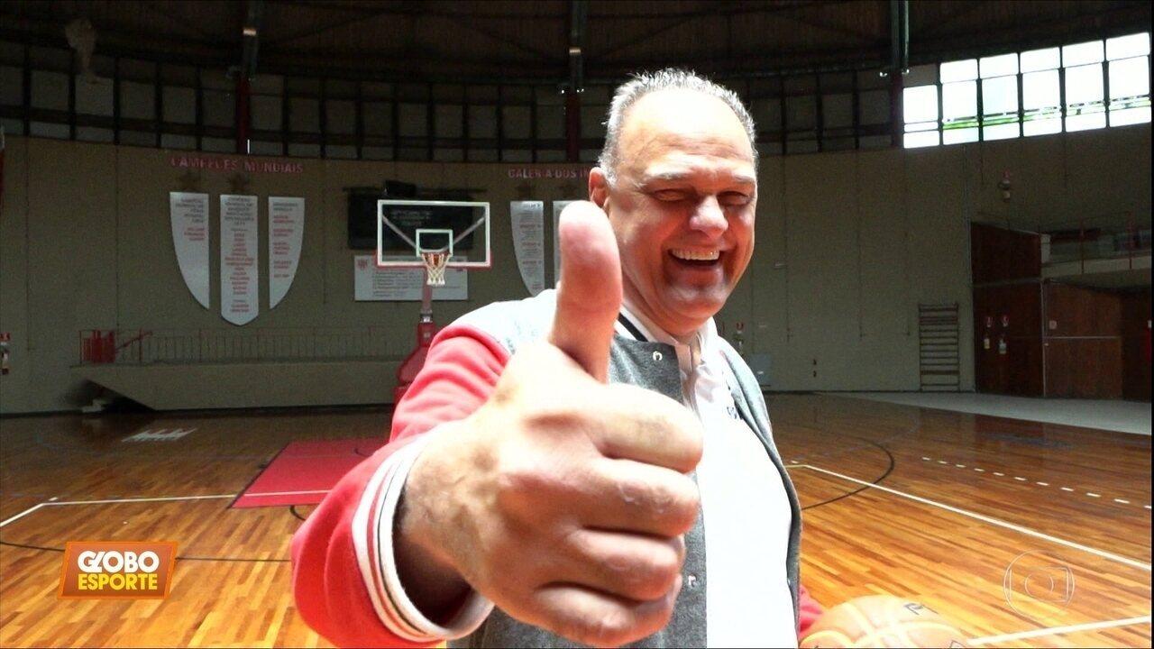 Oscar Schimidt revela que está curado do câncer e relembra carreira vitoriosa no basquete