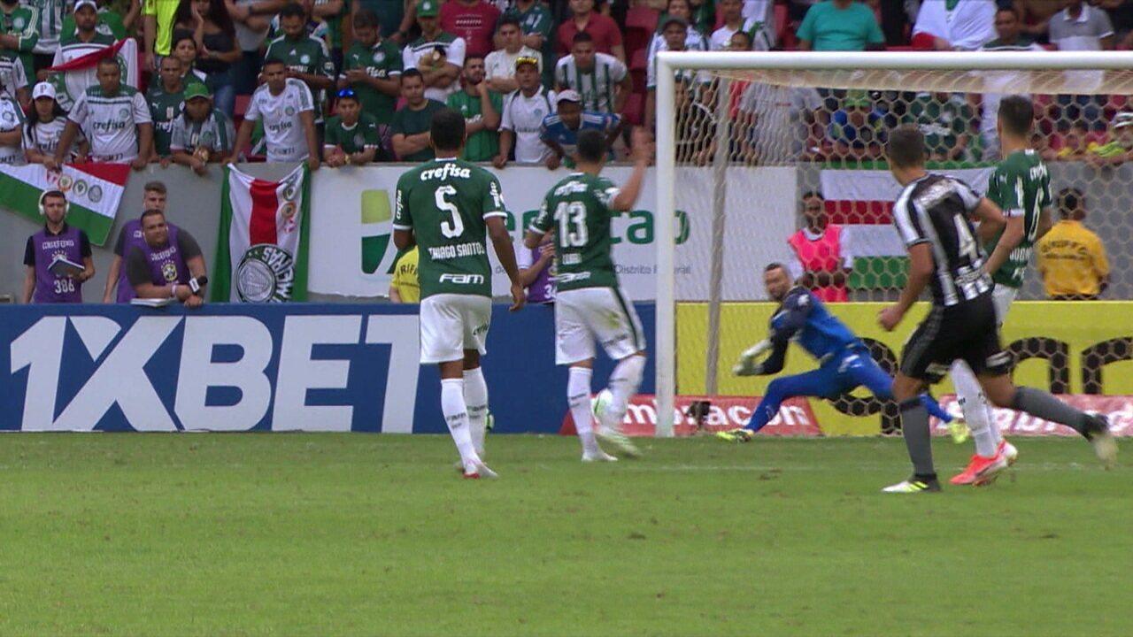 Melhores momentos: Botafogo 0 x 1 Palmeiras pela 6ª rodada do Brasileirão 2019