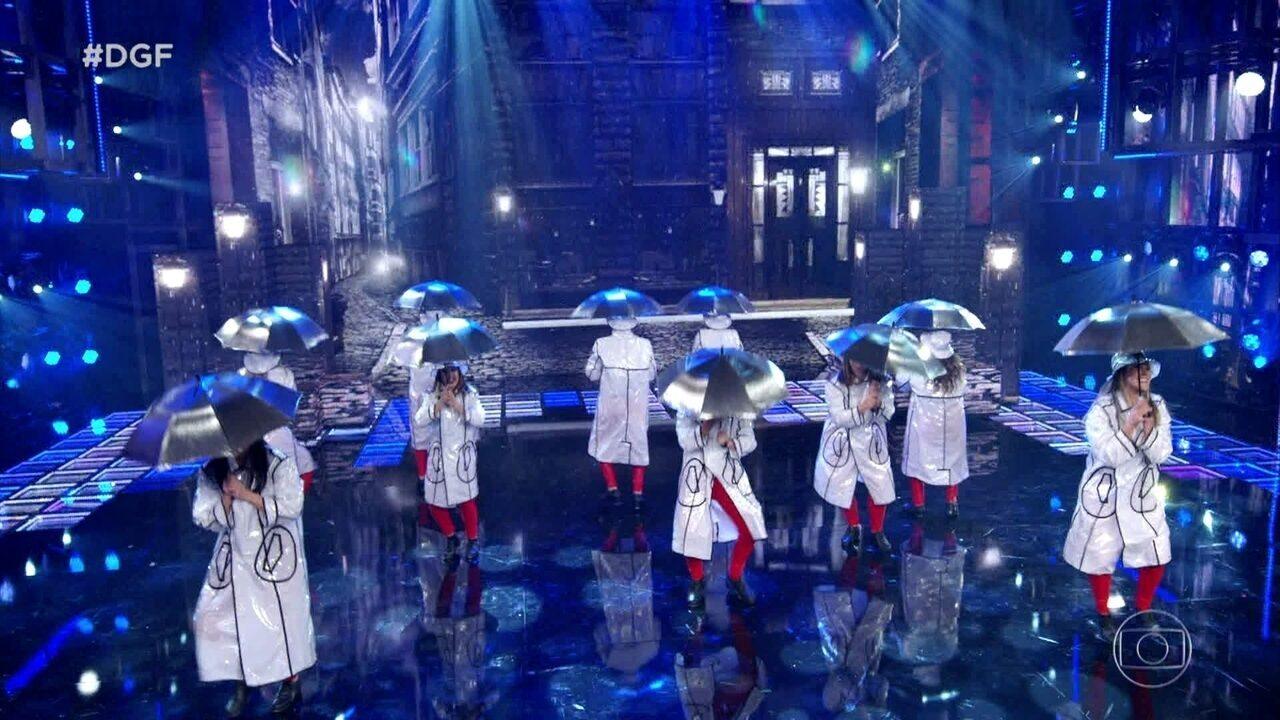 Cia Vera Passos se apresenta no Dança de Grupo misturando sapateado e discoteca
