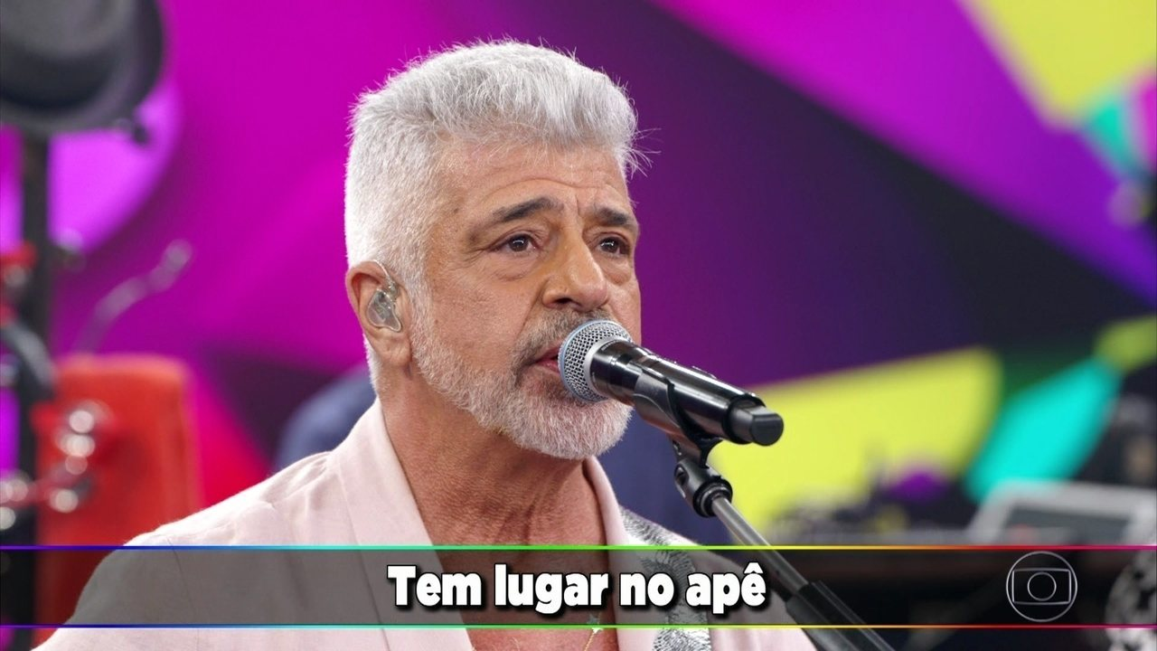 "Lulu Santos canta ""Pra Sempre"""
