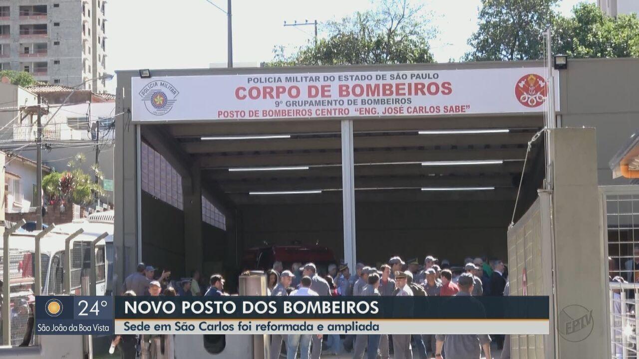 39d1c7b74 Corpo de Bombeiros inaugura segundo posto de atendimento em São ...