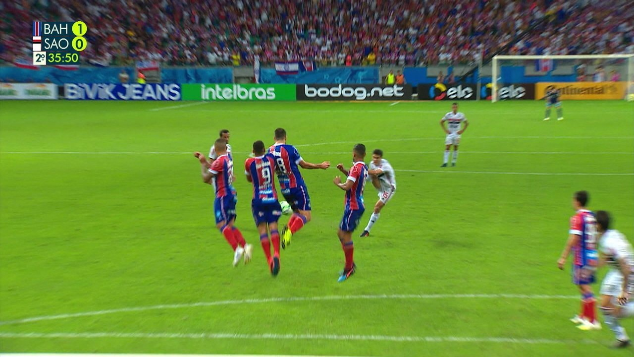 Melhores momentos: Bahia 1 x 0 São Paulo pela Copa do Brasil
