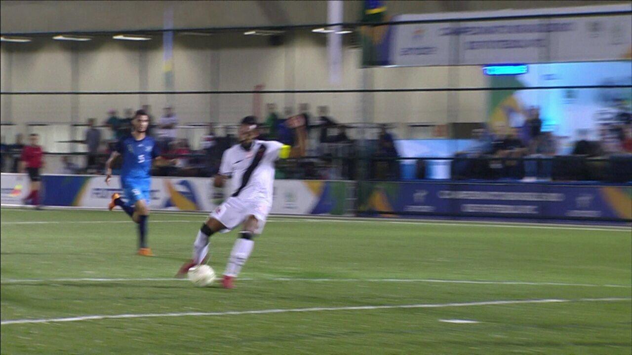 Resultado de imagem para Os gols de Vasco 4 x 1 Cetefe-DF pela final do Campeonato Brasileiro de futebol de 7 paralímpico