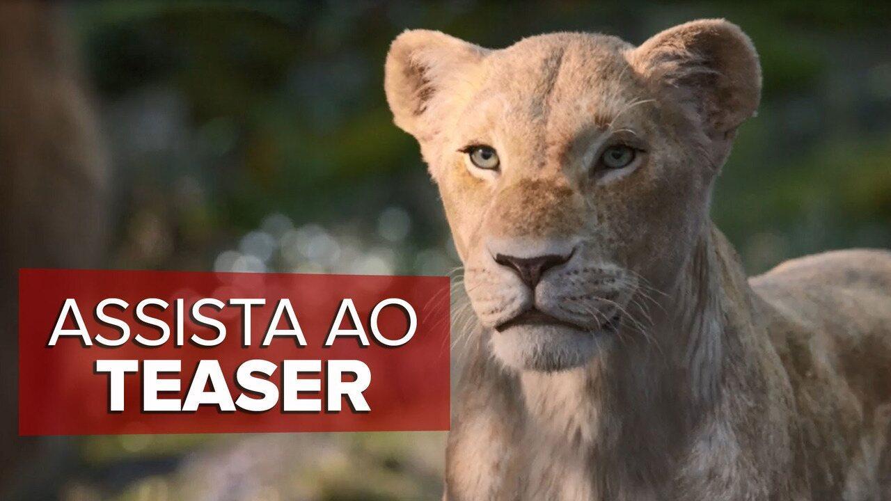 Teaser de 'O Rei Leão' com voz de Beyoncé