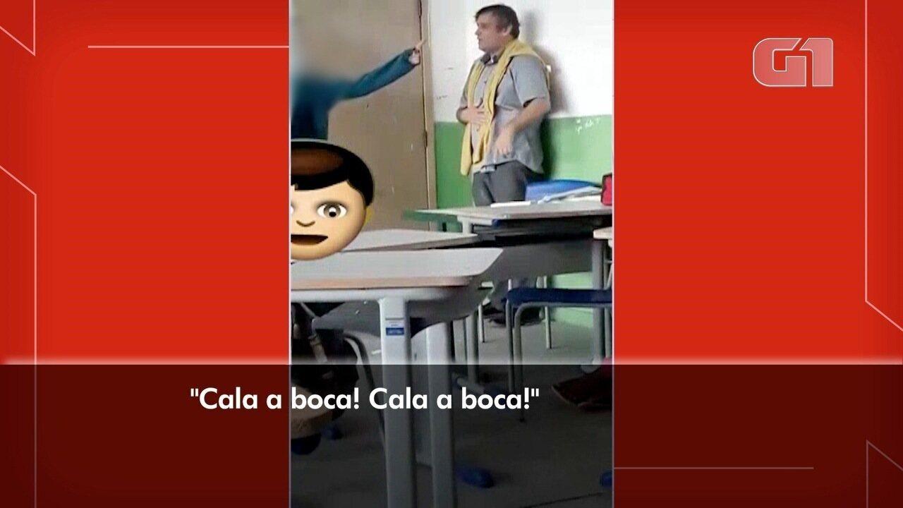 Alunos humilham professor em escola em Jacareí