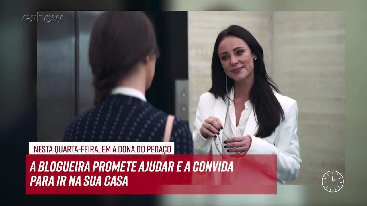 Resumo do dia - 05/06 – Vivi Guedes convida Fabiana para ir na sua casa