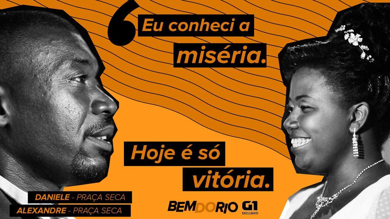 Bem do Rio: Casal de ex-moradores em situação de rua realizam sonho e se casam