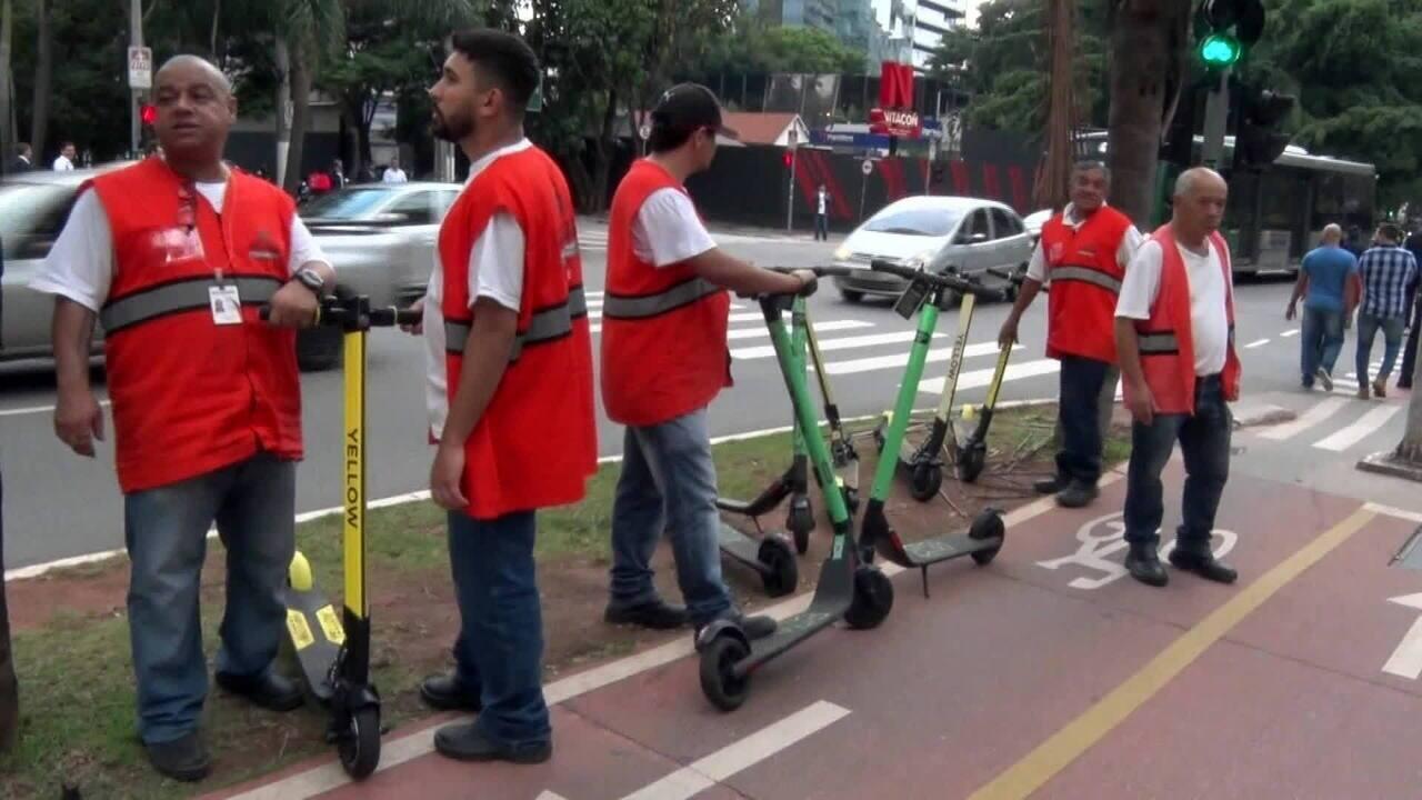 Empresa de patinetes elétricos volta a operar em São Paulo nesta quinta (6)