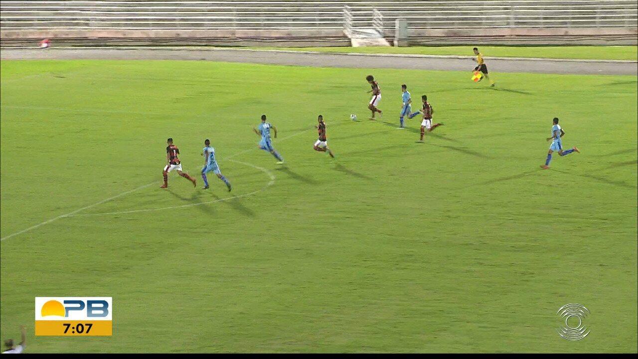Assista aos gols da vitória do Campinense por 4 a 0 diante do Vitória-PE