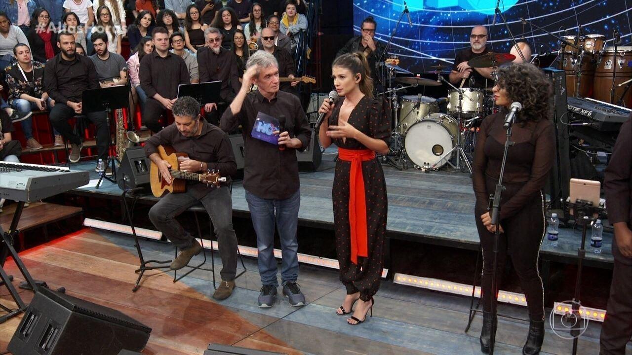 Paula Fernandes comenta sobre a música 'Juntos' e 'Shallow Now'