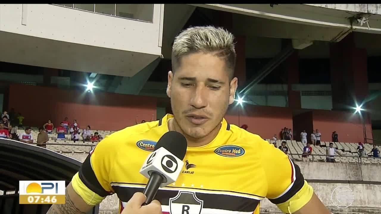 River-PI perde para o Bragantino-PA e é eliminado do Brasileirão - Série D