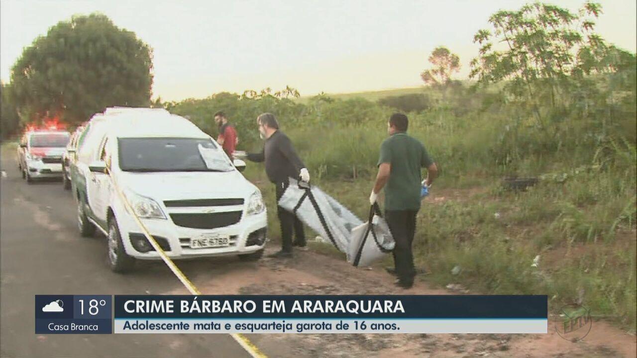 Adolescente que estava desaparecida é assassinada e esquartejada em Araraquara