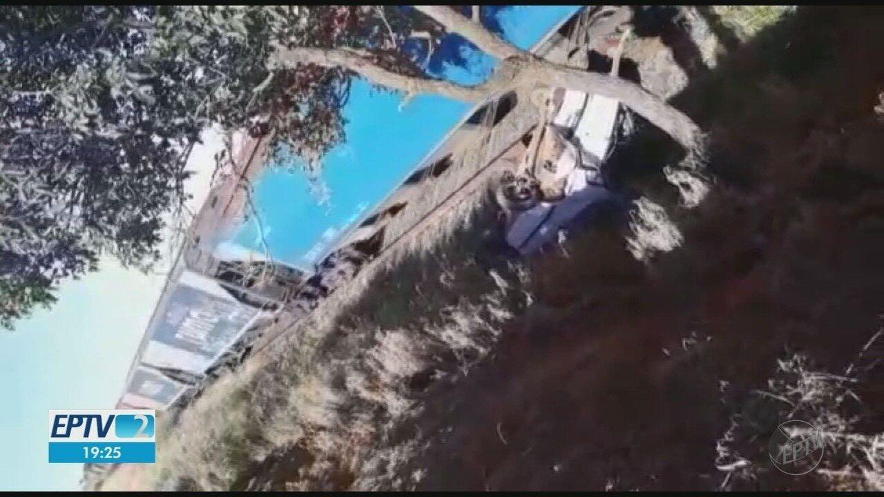 Motorista sobrevive a dois acidentes no mesmo dia em Fernando Prestes, SP