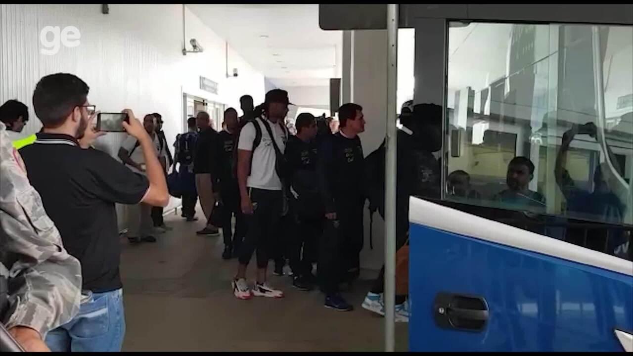 Delegação do Equador chega a Belo Horizonte para estreia na Copa América