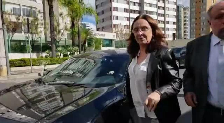 Andrea Neves chega a PF em BH para prestar depoimento