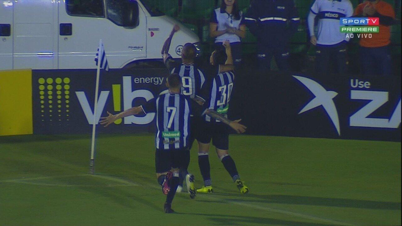 Confira os gols de FIgueirense 2 x 1 Botafogo-SP pela 8ª rodada da Série B