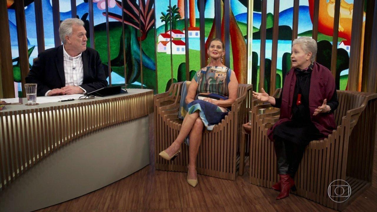 Maria Adelaide Amaral e Tarsilinha falam sobre a relação de Tarsila e Oswald de Andrade