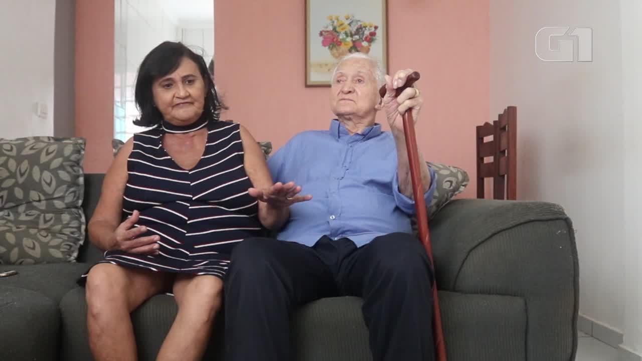 Idosos se casam após 40 anos juntos