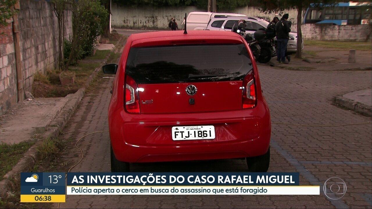 Polícia intensifica investigações para encontrar assassino de rafael Miguel
