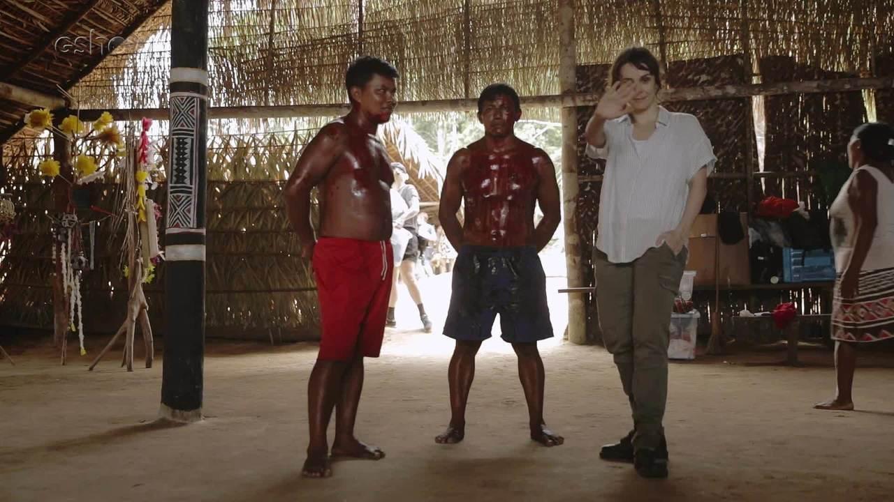 Confira os bastidores de Aruanas na Amazônia