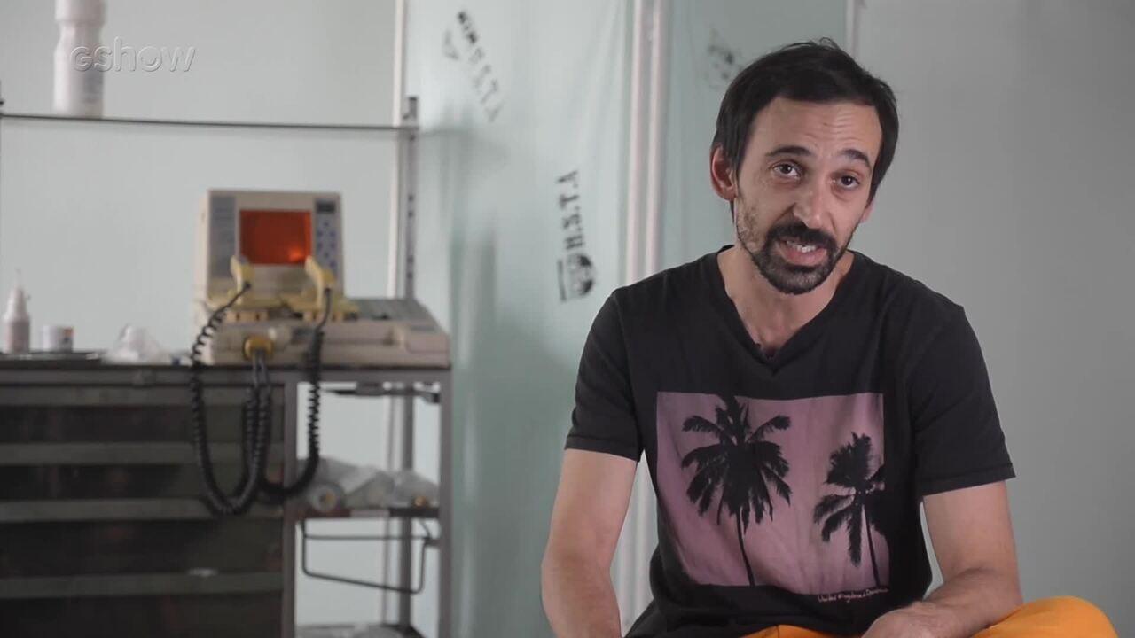 Julio Andrade é diretor dos episódios 9 e 10