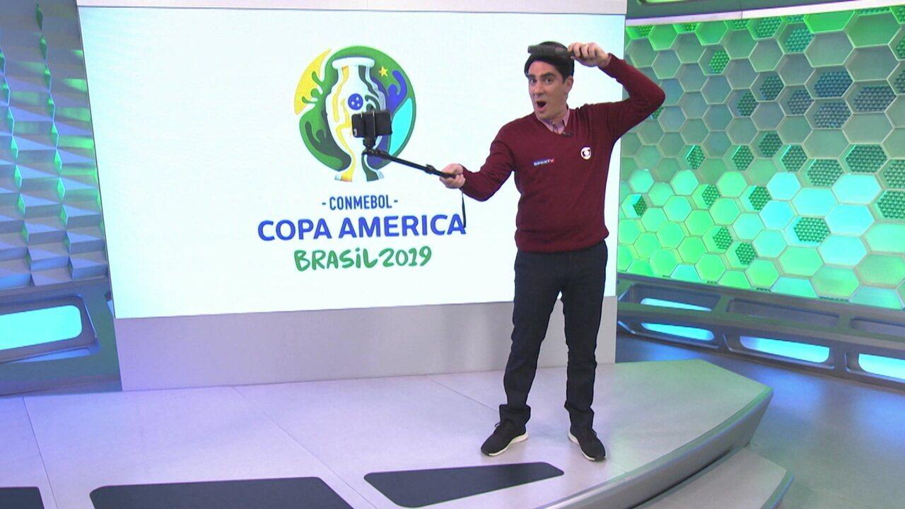 Soy Loco por Copa América: Adnet brinca com Luiz Carlos Jr