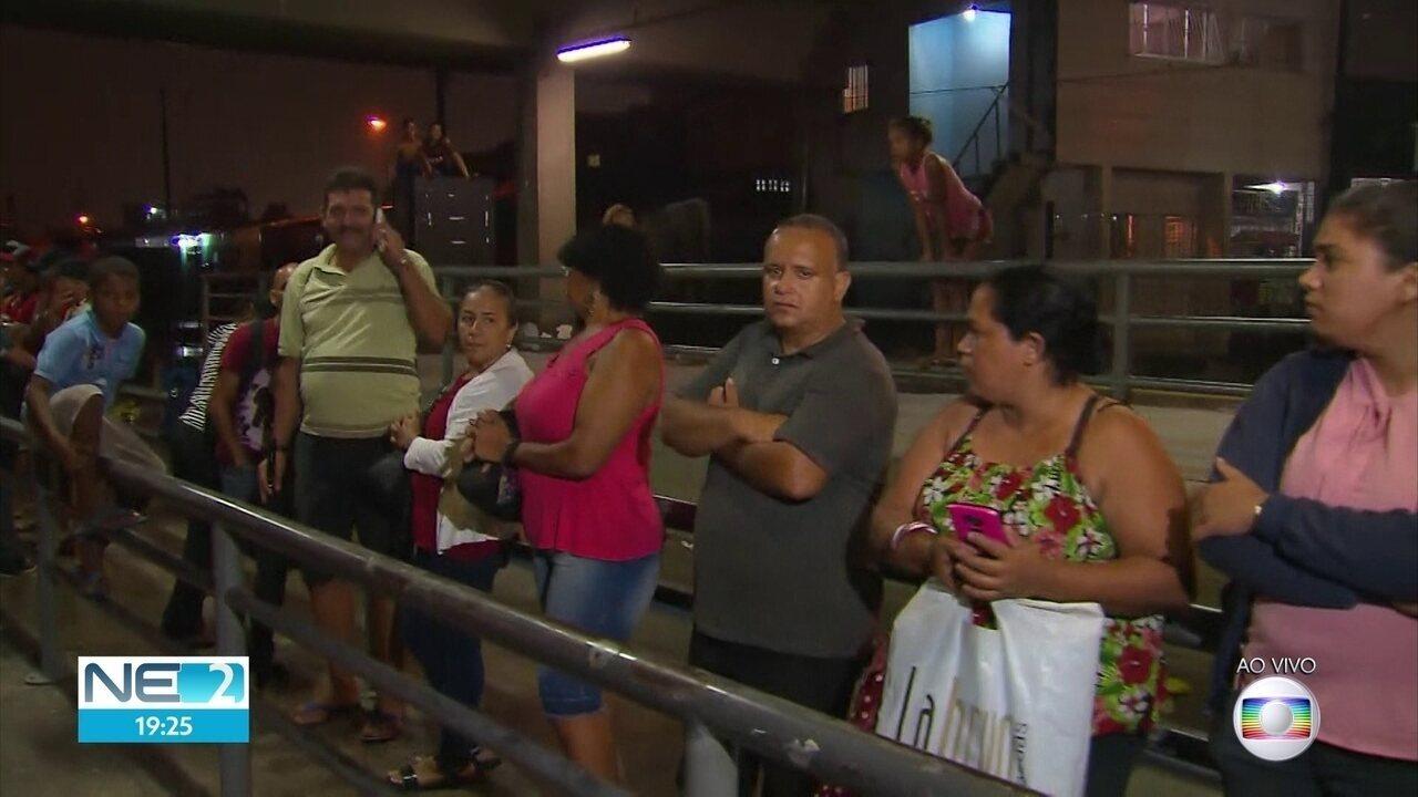 Chuva prejudica serviços de metrô e ônibus no Grande Recife
