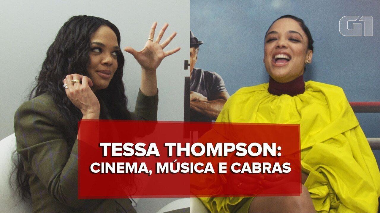 Tessa Thompson fala sobre representatividade, música e cabras