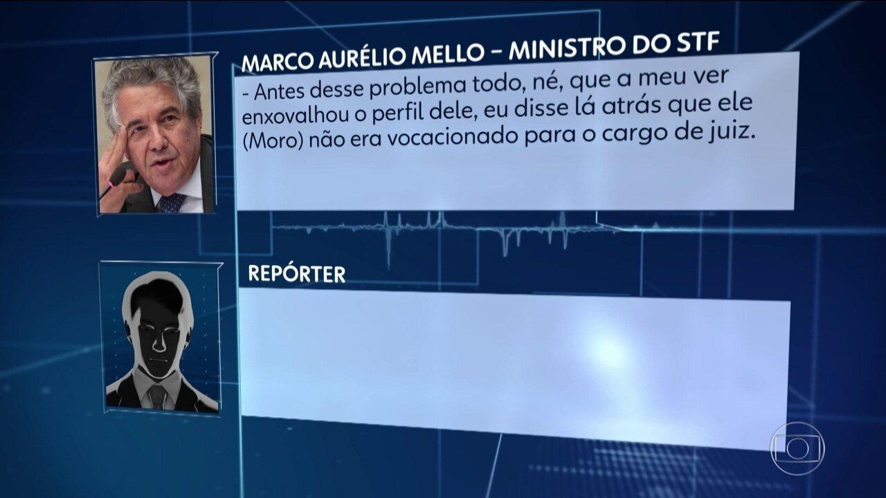 Ministro do STF diz que conversas podem influenciar julgamento sobre parcialidade de Moro