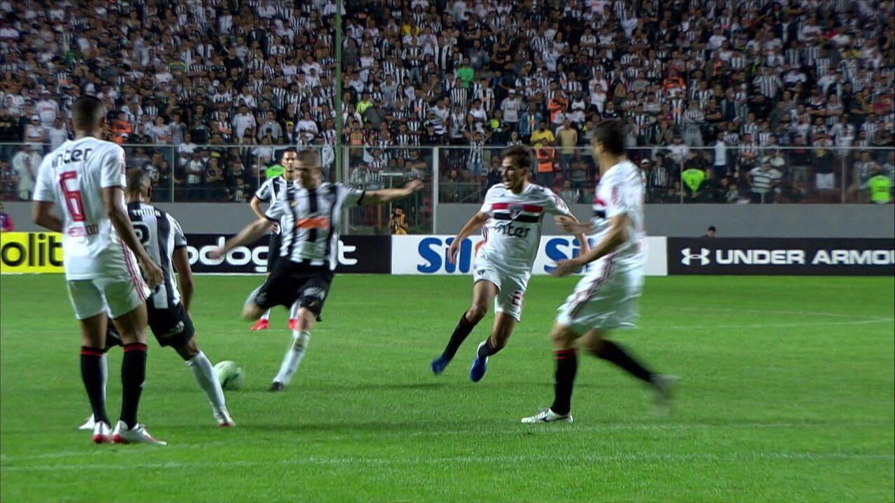 Melhores momentos: Atlético-MG 1 x 1 São Paulo pela 9ª rodada do Campeonato Brasileiro