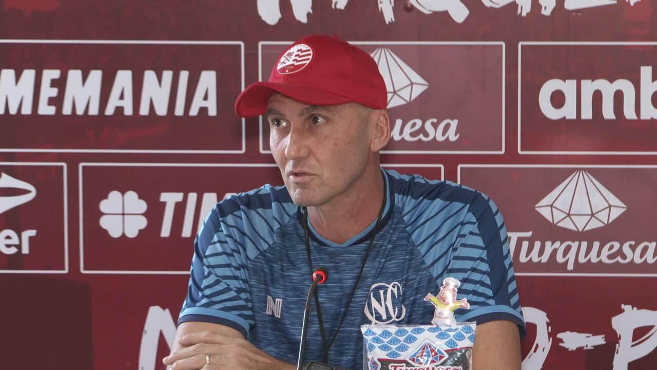 Assista à íntegra da entrevista de Dal Pozzo antes de jogo contra Botafogo-PB