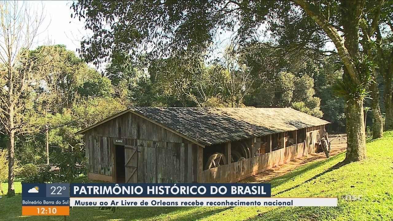 Museu ao Ar Livre de Orleans é tombado como patrimônio cultural brasileiro; conheça