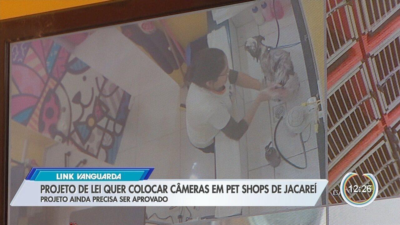 Projeto de lei quer colocar câmeras em pet shops de Jacareí