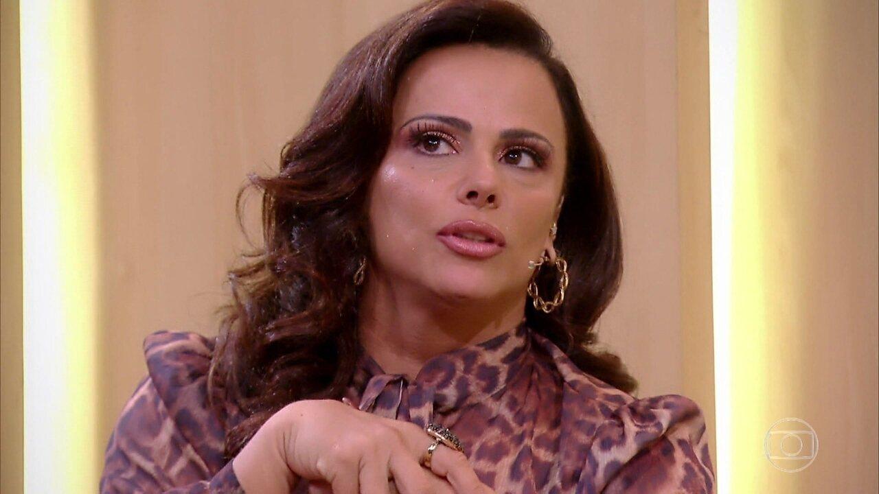 Viviane Araujo relembra sua trajetória