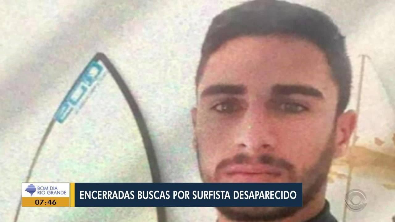 Encerradas buscas por surfista desaparecido no litoral gaúcho