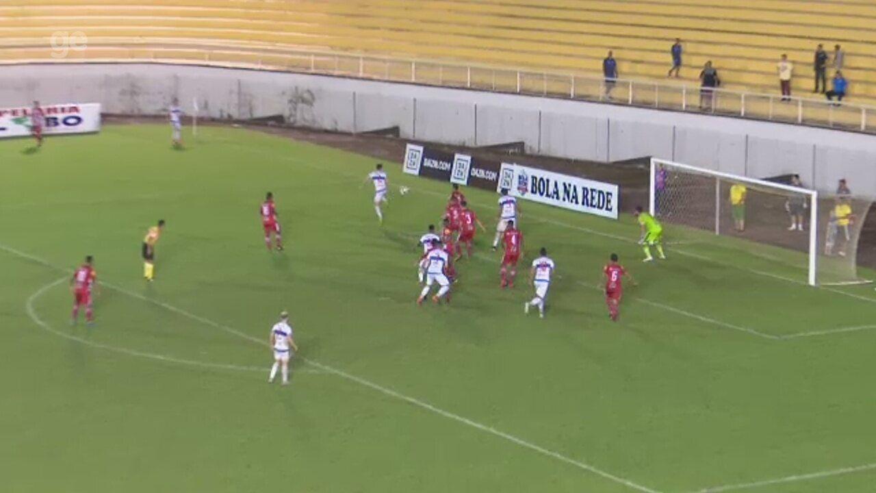 Veja os gols de Atlético-AC 2 x 1 Tombense, pela 8ª rodada do Brasileiro da Série C