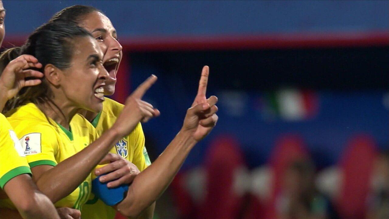 Comentaristas falam sobre a classificação da seleção feminina às oitavas de final da Copa do Mundo
