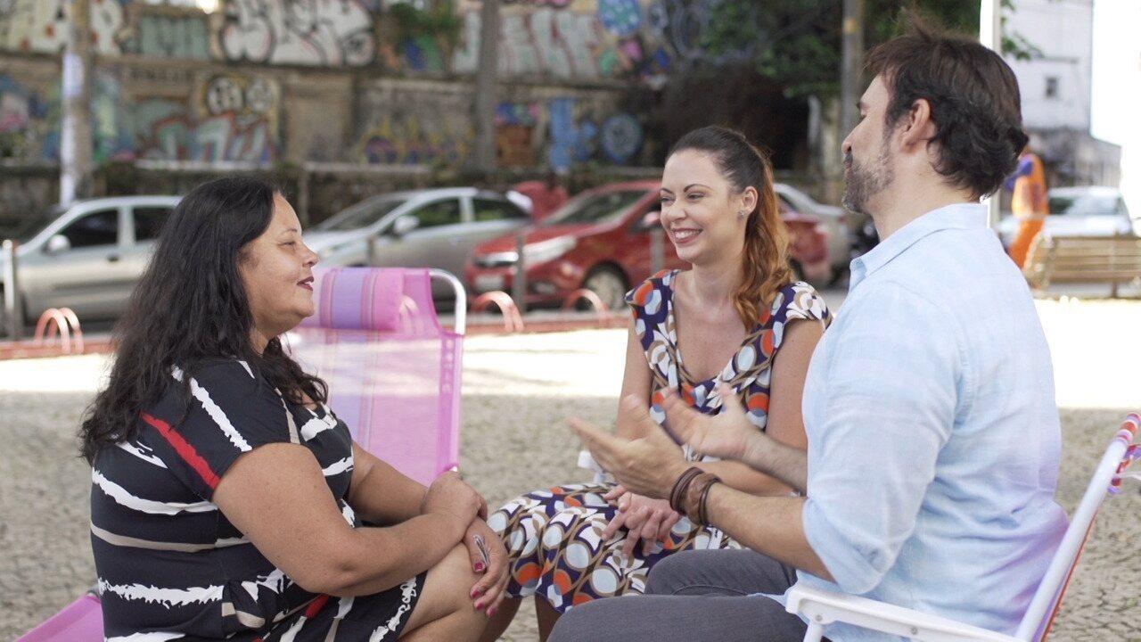 Briza Menezes e Kau Mascarenhas falam sobre a dificuldade em receber elogios