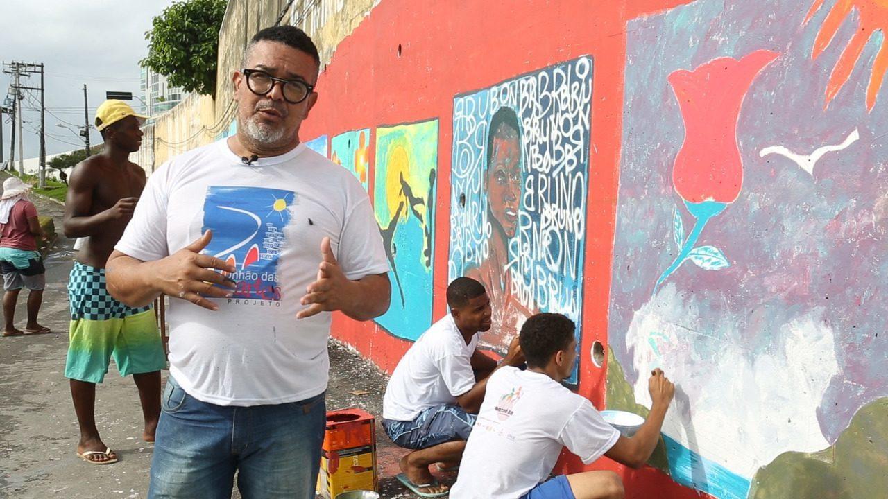 Projeto Unhão das Artes qualifica jovens do Solar do Unhão a cuidar de onde vivem
