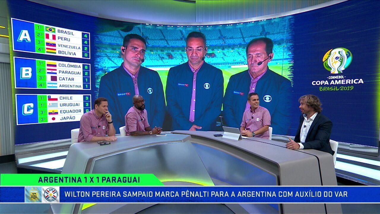 Troca de Passes debate sobre o empate da Argentina com o Paraguai