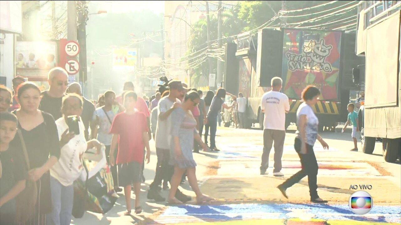 Tapete de sal em São Gonçalo é um dos maiores da América Latina