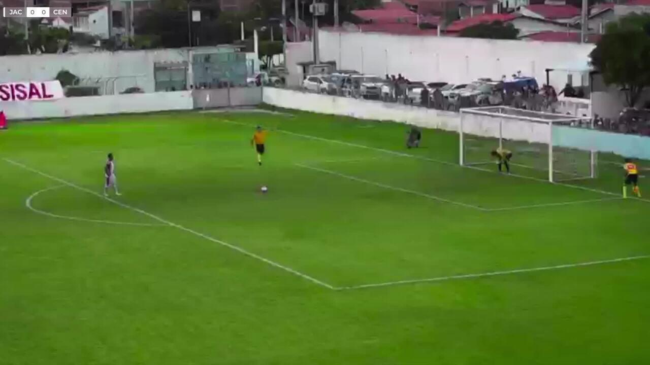 Penalidades: Jacuipense 5 x 3 Central