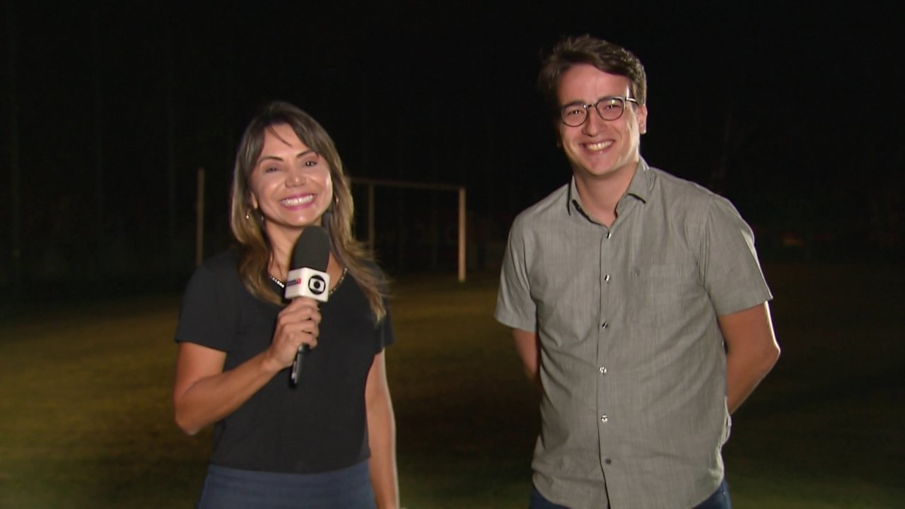 Boletim do Sport com Sabrina Rocha e Lucas Liausu comentando ausência de Magrão