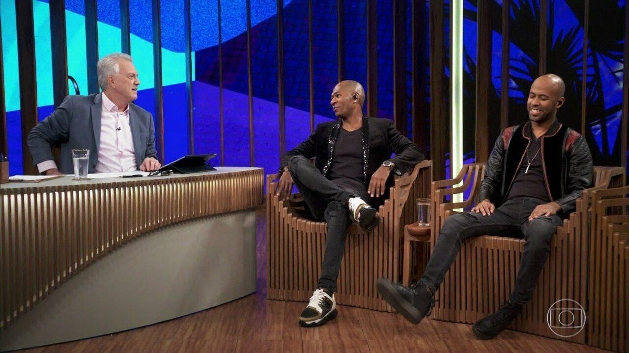 Leiz e Caramelo falam sobre o início de carreira da Turma do Pagode