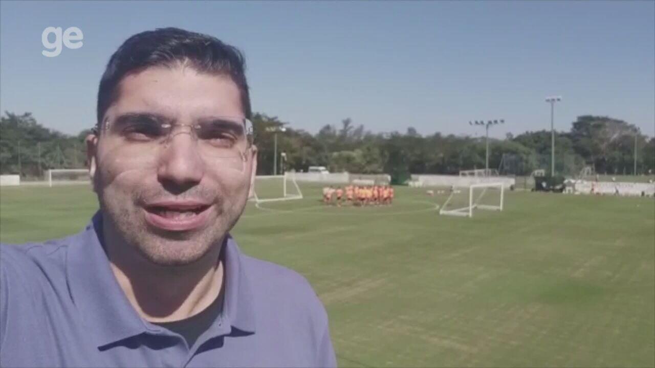 Confira como foi o primeiro treino do Inter em Atibaia