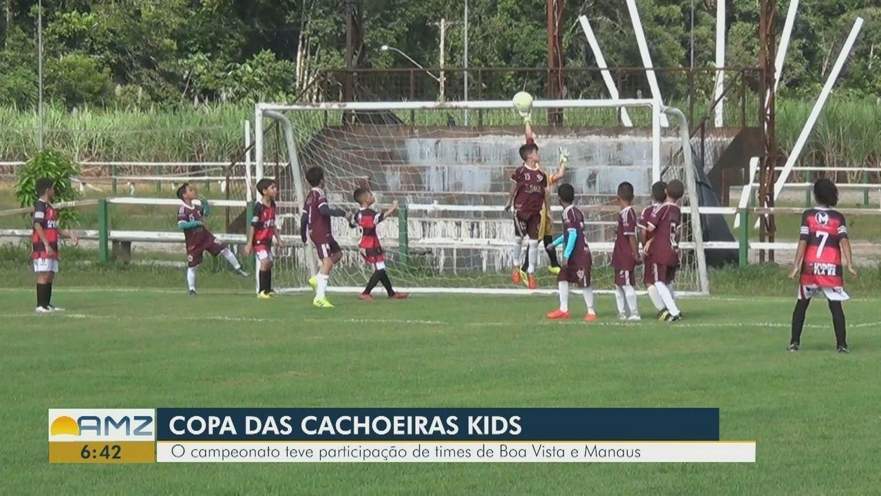 Presidente Figueiredo recebe competição voltada para a base do futebol