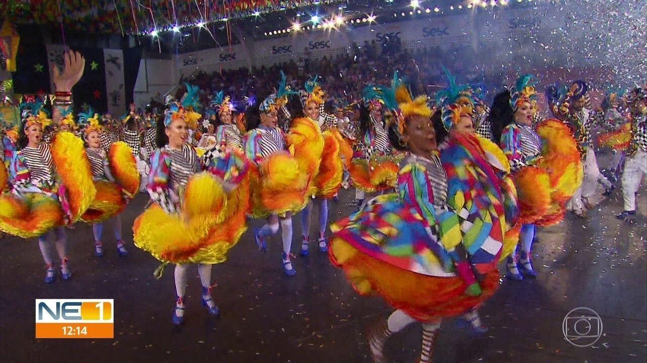 Representante do Piauí, Luar do São João vence o Festival de Quadrilhas Juninas da Globo