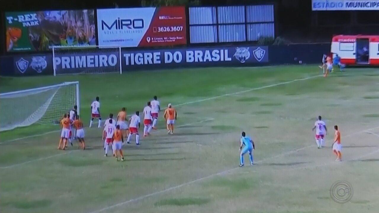Noroeste perde para o Atibaia na estreia da Copa Paulista