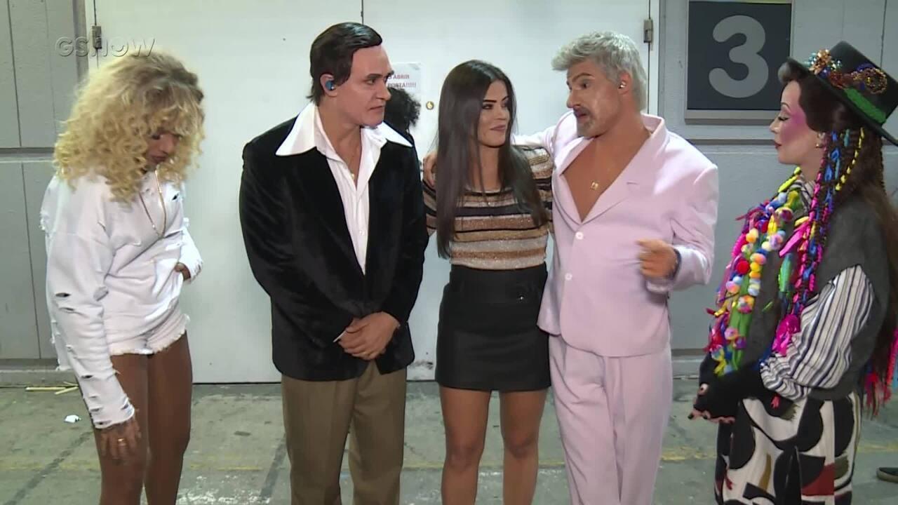 Elenco do Grupo B comenta apresentações da sexta rodada do 'Show dos Famosos'